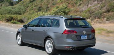 Volkswagen Golf SportWagon Driving Profile Shot 2
