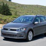 Volkswagen Golf SportWagon Front Profile Shot