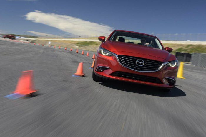 GVC technology uses the engine to boost chassis feel. Photo: Mazda.