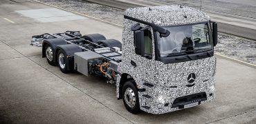 Mercedes-Benz Urban eTruck Prototype