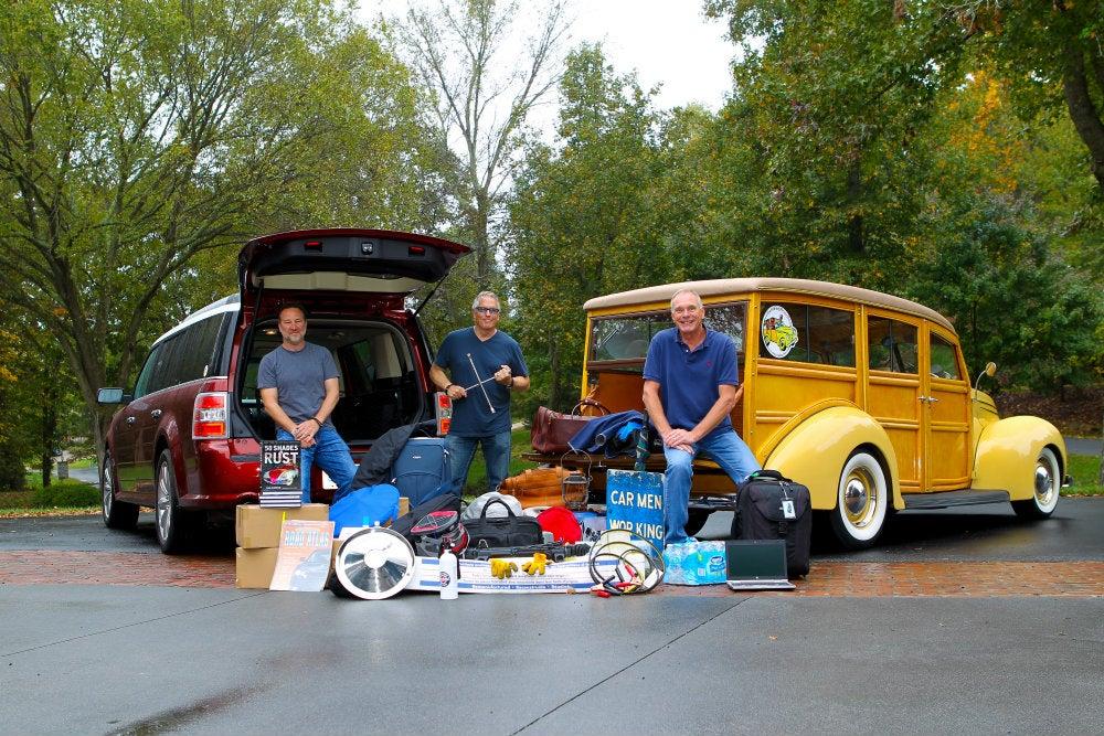 Automoblog Book Garage: Barn Find Road Trip