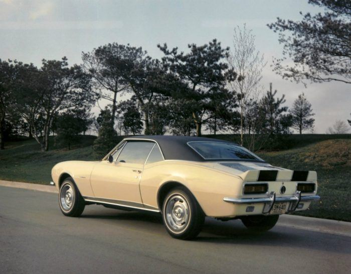 1967 Chevrolet Camaro Z28. Photo: General Motors