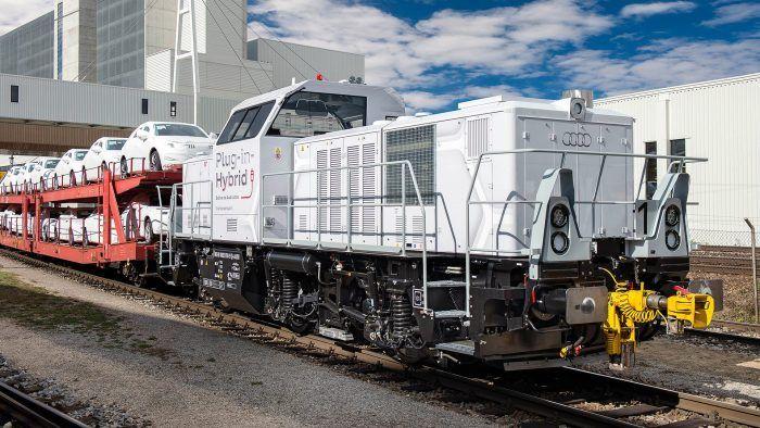 2015 Audi Hybridi Locomotive Ingolstadt