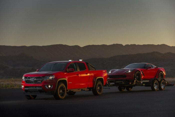 2016 Chevrolet Colorado Duramax Diesel. Photo: Chevrolet