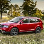 2016 Dodge Journey Crossroad Drivers Side Profile