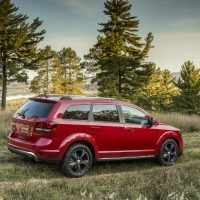 2016 Dodge Journey Crossroad Passenger Side Profile