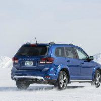 2016 Dodge Journey Crossroad Plus Snow Drive Rear Profile