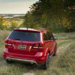 2016 Dodge Journey Crossroad Rear Profile
