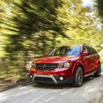 2016 Dodge Journey Crossroad Wooded Area Drive
