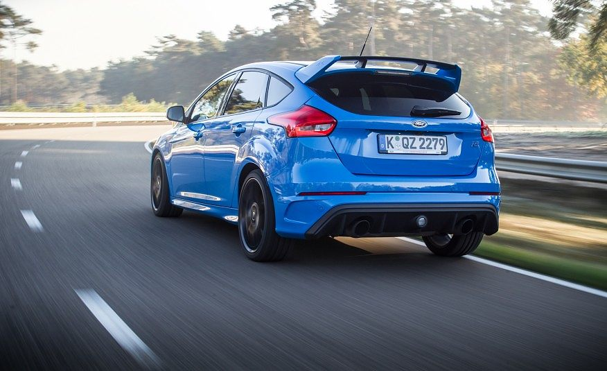 2016 Ford Focus RS 105