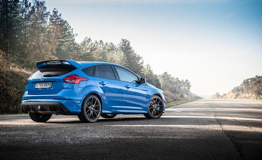 2016 Ford Focus RS 118