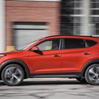2017 Hyundai Tucson Left Side Profile