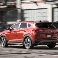2017 Hyundai Tucson Left Rear Three Quarters