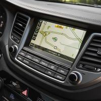 2017 Hyundai Tucson Navigation Screen