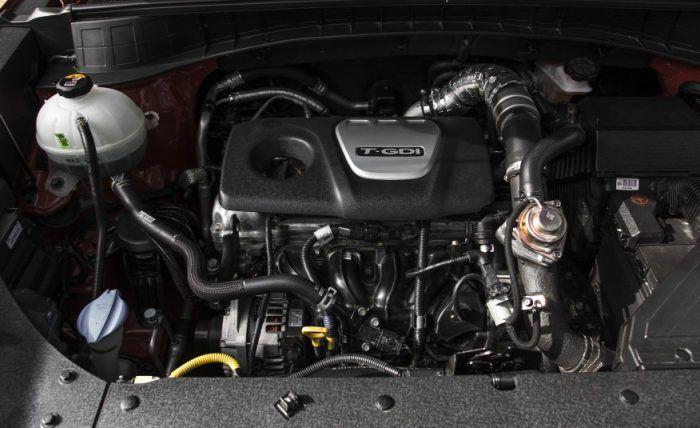 Hyundai 1.6 L Turbocharged 4-Cylinder Engine