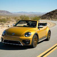 2016 Volkswagen Beetle Dune Daytime Cruise