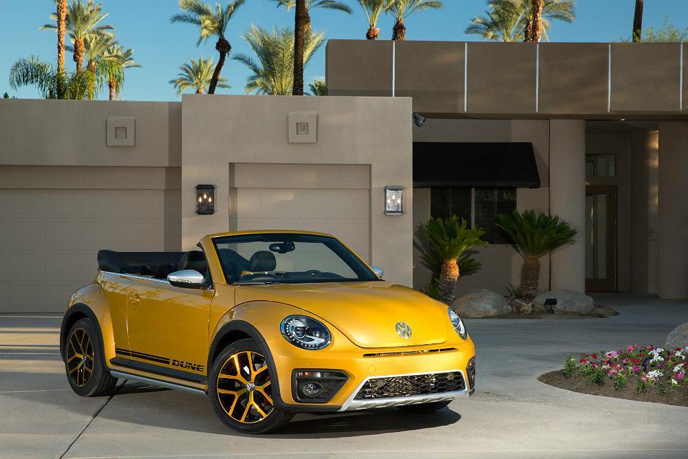 2016 Volkswagen Beetle Dune Driveway Profile