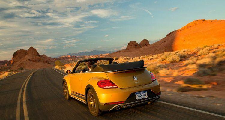 2016 Volkswagen Beetle Dune Sunset Cruise