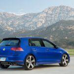 2016 Volkswagen Golf R Profile Shot
