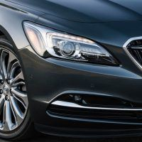 2017 Buick LaCrosse Headlight and Lower Grille