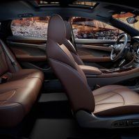 2017 Buick LaCrosse Front and Rear Seats