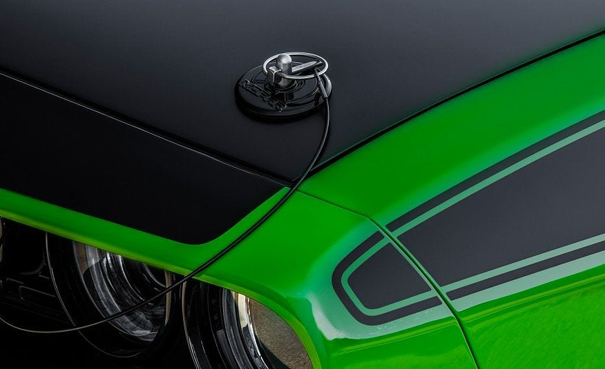 2017 Dodge Challenger T A Hood Pins Photo On Automoblog Net