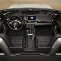 2017 Fiat 124 Spider Lusso Interior Profile Shot