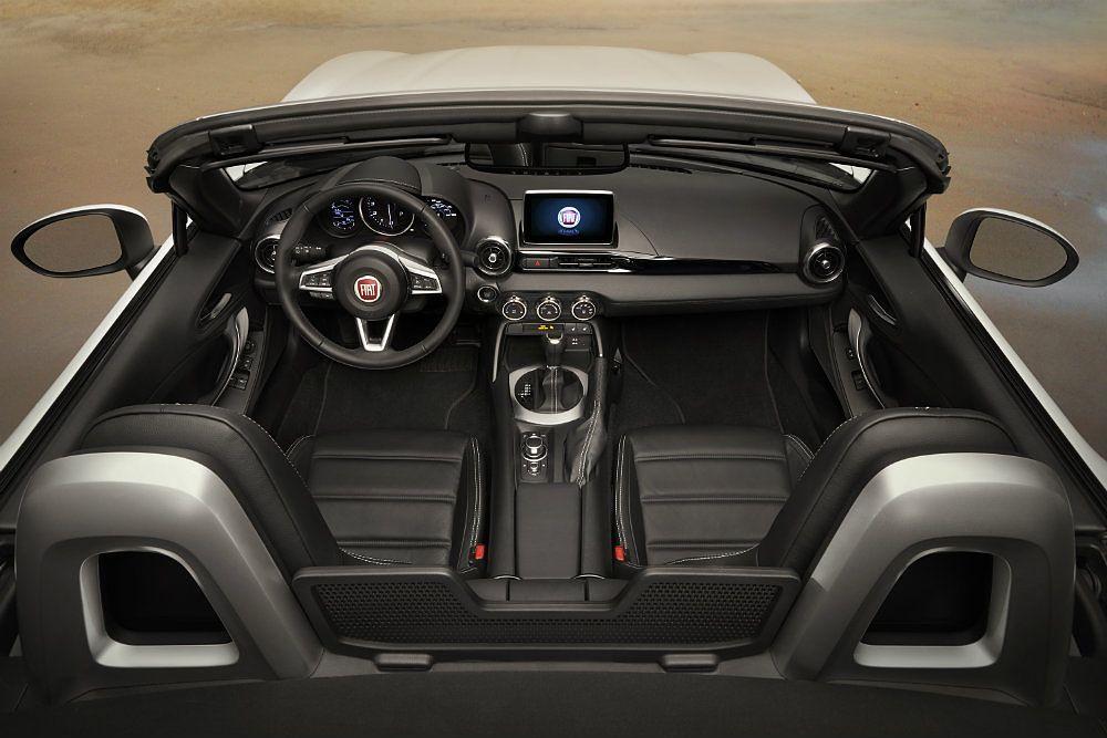 2017 Fiat 124 Spider Lusso Interior Profile Shot