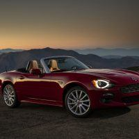 2017 Fiat 124 Spider Lusso Passenger Side Profile Shot
