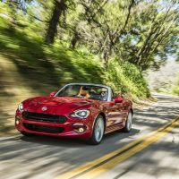 2017 Fiat 124 Spider Lusso Street Drive