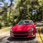 2017 Fiat 124 Spider Lusso Taking Corners