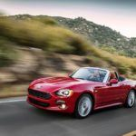 2017 Fiat 124 Spider Lusso Top Down Cruise