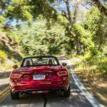 2017 Fiat 124 Spider Lusso Trailing Shot