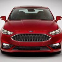 2017 Ford Fusion Front Profile Shot