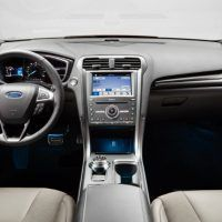 Interior Highlights The Cabin Of New Ford Fusion Hybrid Anium
