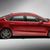2017 Ford Fusion Passenger Side Profile Shot