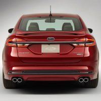 2017 Ford Fusion Rear Profile Shot