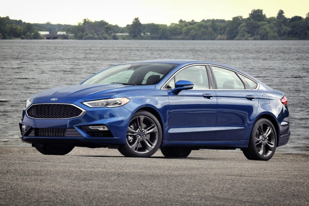New Ford Fusion >> 2017 Ford Fusion Sport photo on Automoblog.net