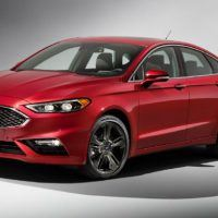 2017 Ford Fusion Studio Shot