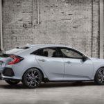 2017 Honda Civic Hatchback Passenger Side Profile Shot