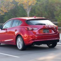 2017 Mazda 3 Left Rear Three Quarters