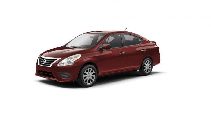 2017 Nissan Versa Sedan Red