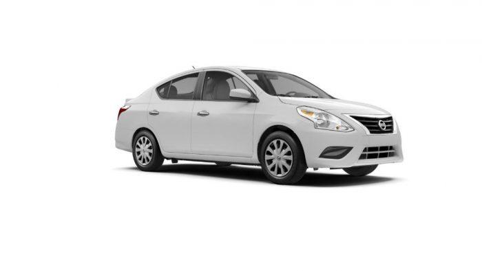 2017 Nissan Versa Sedan White