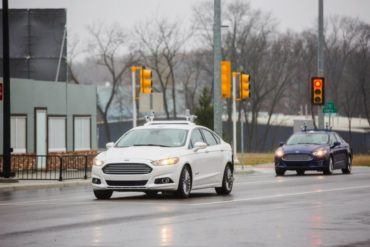 Autonomous Ford Fusion Testing
