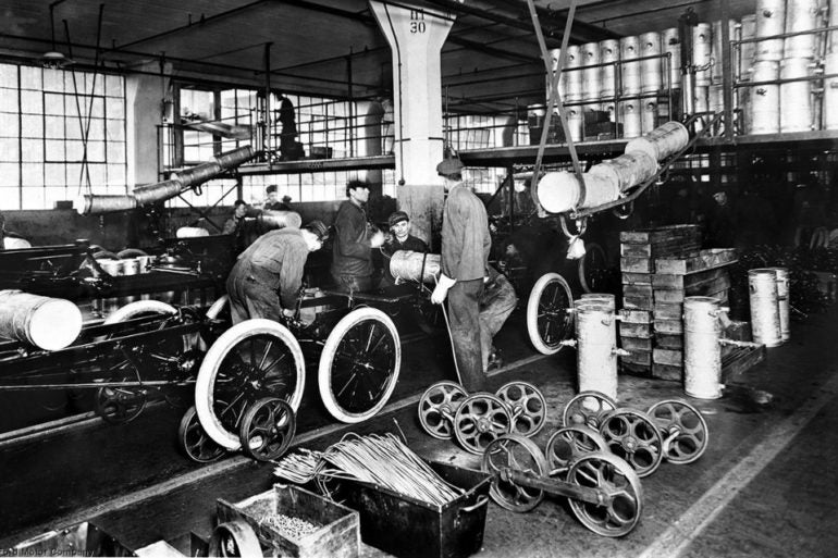 Ford Integrated Assembly Line 1913