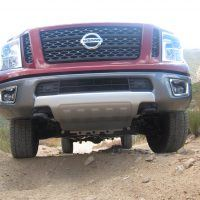2016 Titan XD Front Off-Road Front Under