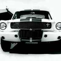 This photo shows the early version R Model valance with its round brake cooling duct holes. Photo: Carroll Hall Shelby Trust/Carroll Shelby Licensing, Inc.