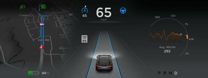 Tesla Autopilot. Photo: Tesla Motors