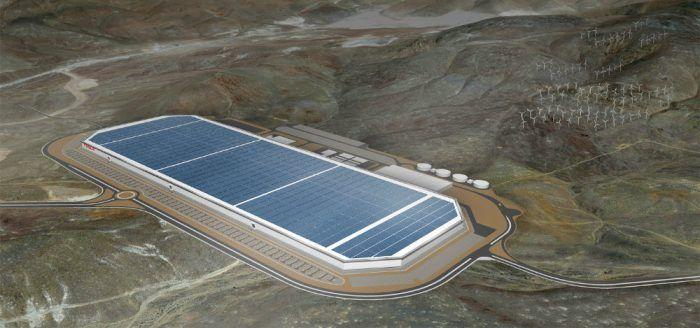 Tesla Gigafactory. Photo: Tesla Motors