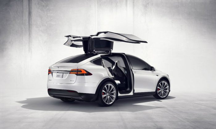 Tesla Model X. Photo: Tesla Motors
